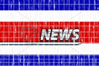 Flag of Costa Rica news