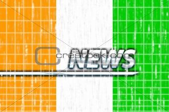 Flag of Ivory Coast news