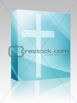 Christian cross box package