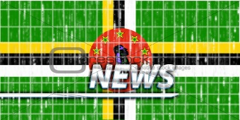 Flag of Dominica news