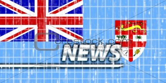 Flag of Fiji news