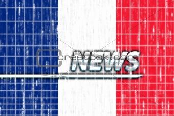 Flag of France news