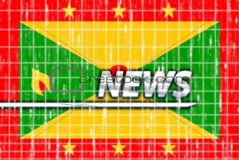 Flag of Grenada news