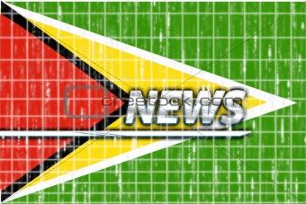 Flag of Guyana news