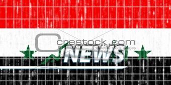 Flag of Iraq news