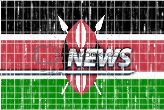 Flag of Kenya news