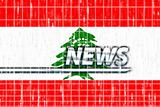 Flag of Lebanon news