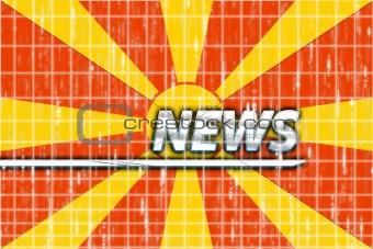 Flag of Macedonia news