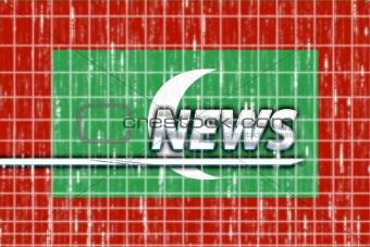 Flag of Maldives news