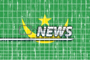 Flag of Mauritania news