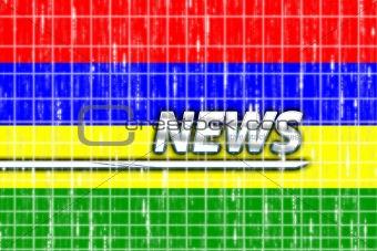 Flag of Mauritius news