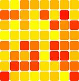 Colored mosaic background