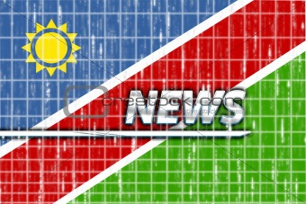 Flag of Namibia news