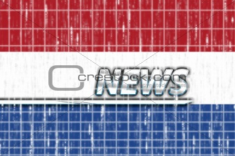 Flag of Netherlands news