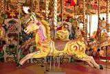 carousel at fun fair