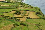 Azores Island landscape beside the ocean