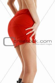 red skirt #2