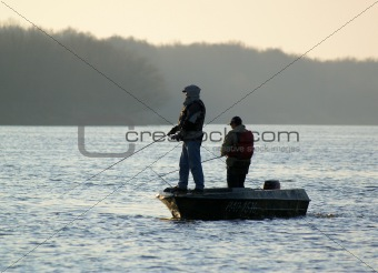Fishing morning