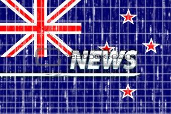 Flag of New Zealand news