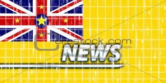 Flag of Niue news