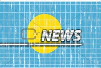 Flag of Palau news