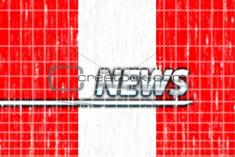 Flag of Peru news