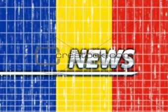 Flag of Romania news