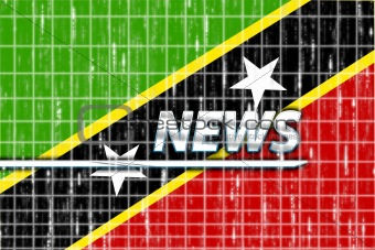 Flag of Saint Kitts and Nevis St. news