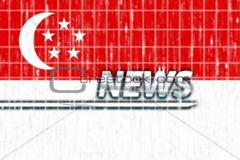 Flag of Singapore news