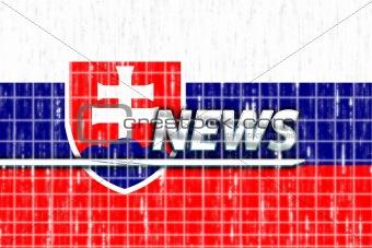 Flag of Slovakia news