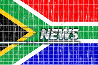 Flag of South Africa news
