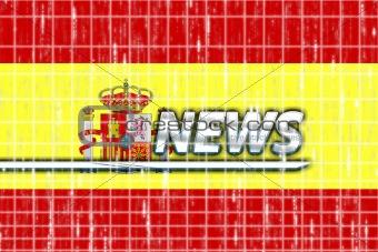 Flag of Spain news