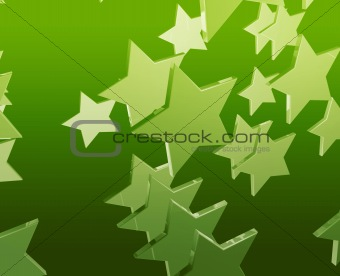Many flying stars