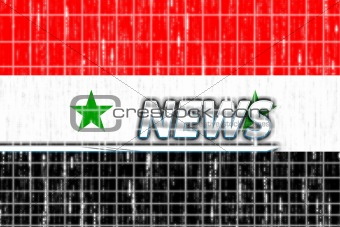 Flag of Syria news