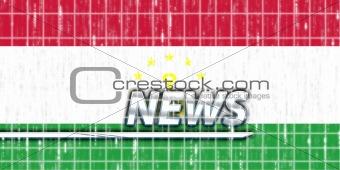 Flag of Tajikistan news