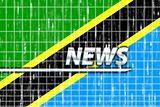 Flag of Tanzania news