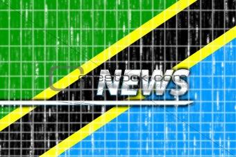 Flag of Tanzania news