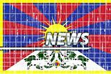Tibet flag news