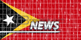 Flag of Timor-Leste news