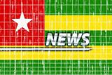 Flag of Togo news