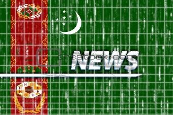 Flag of Turkmenistan news