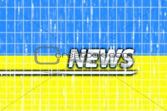 Flag of Ukraine news