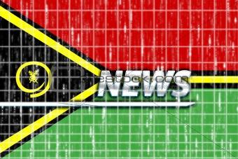 Flag of Vanuatu news