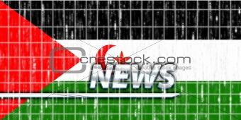 Flag of Western Sahara news