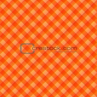 orange table cloth