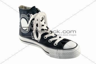 black high top sneaker