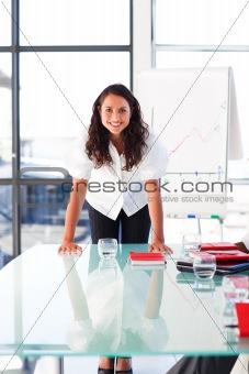 Potrait of a businesswoman