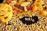 various kinds of pasta