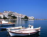 The port of Skopelos