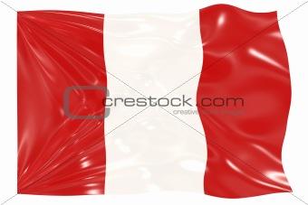 Flag of Peru,